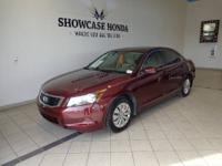 Accord LX 2.4, Honda Certified, 5-Speed Automatic with