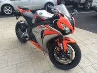 2010 Honda CBR 1000 RR that is in terrific condition