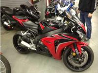 2010 Honda CBR1000RR. Has just over 1300 miles- The
