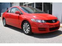-New Arrival- Sunroof, and MP3 CD Player This Red 2010