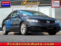 Civic EX-L, 2D Coupe, Gray w/Leather Seat Trim, and