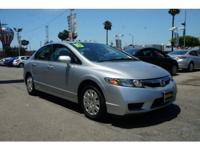 ~ ~ 2010 Honda Civic GX ~ ~ CARFAX: 1-Owner, Buy Back