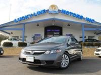 2010 Honda Civic FWD with highly effective L4, 1.8 L;