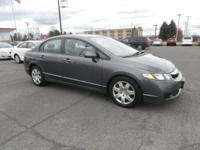 Exterior Color: gray, Body: LX 4dr Sedan 5A, Engine: