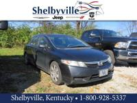 CARFAX One-Owner. 2010 Honda Civic LX FWD Compact