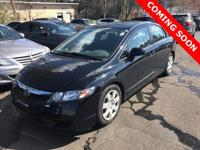 2010 Honda Civic LX Gray w/Cloth Seat Trim. Odometer is