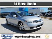 This outstanding example of a 2010 Honda Civic Sdn LX