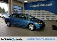 Recent Arrival! This 2010 Honda Civic LX in Atomic Blue