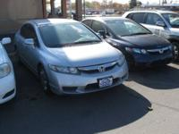 HERE'S A GOOD ONE . . . 2010 HONDA CIVIC LX 4 DOOR