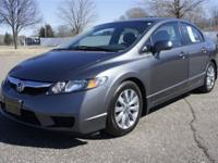 ONE OWNER HONDA CIVIC EX-L WITH LEATHER SEATS COMES
