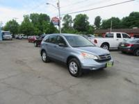 This 2010 CR-V LX has a CARFAX Buy Back Guarantee from