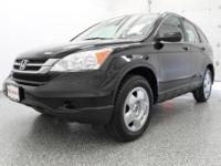ALL WHEEL DRIVE!! CRYSTAL BLACK PEARL 2010 HONDA CR-V!!