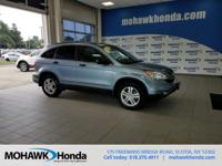 Recent Arrival! This 2010 Honda CR-V EX in Blue