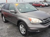 Gray 2010 Honda CR-V EX-L AWD 5-Speed Automatic 2.4L I4