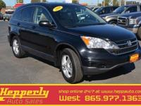 2010 Honda CR-V EX-L AWD, Power Moonroof, Leather,
