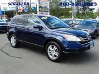 ONE OWNER and CLEAN CARFAX. CR-V EX-L w/Navigation,