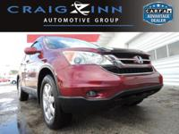 New Arrival! LOW MILES, This 2010 Honda CR-V EX-L will
