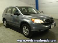 2010 Honda CR-V LX 2WD Blue 28/21 Highway/City MPG**
