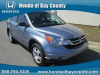 Honda of Bay County presents this 2010 HONDA CR-V 2WD