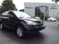 Clean CarFax. Only One Owner. CR-V EX-L 4D Sport