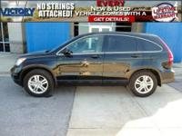 CR-V EX-L and Lifetime Powertrain Warranty Included