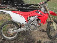 The 2010 CRF250R: Setting the bar just that much