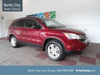 FACTORY CERTIFIED 2010 HONDA CRV EX 4WD,one
