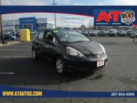 CARFAX One-Owner. 2010 Honda Fit FWD 5-Speed Manual