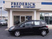2010 Honda Fit Hatchback Our Location is: The Frederick