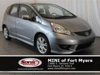 This 2010 Honda Fit Sport comes well-equipped with MP3