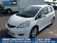 Come see this 2010 Honda Fit Sport. Its Automatic