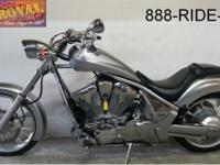 2010 Honda Fury 1300 motorbike for sale. Fluid Silver