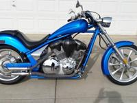 2010 Honda Fury Chopper Style Motorcycle for