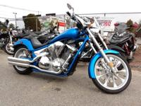 Cool custom chopper look with Honda reliability!,