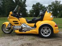 2010 Honda GL1800 California side car trike 2010 Top