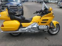 The name Goldwing says it all!