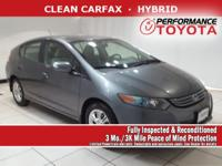 This front wheel drive 2010 Honda Insight EX features