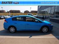 I am selling my 2010 Honda Insight Hybrid today since I