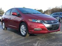 Tango Red Pearl 2010 Honda Insight EX FWD CVT 1.3L I4