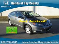 Honda of Bay County presents this 2010 HONDA INSIGHT