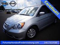 2010 Honda Odyssey EX-L ***** Honda Certified, 4-Wheel