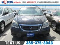 Blue 2010 Honda Odyssey EX FWD 5-Speed Automatic with