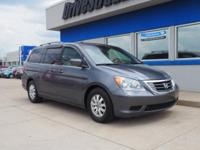 Gray 2010 Honda Odyssey EX-L FWD 5-Speed Automatic with
