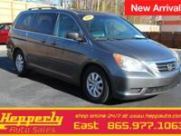 This 2010 Honda Odyssey EX-L in Bali Blue Pearl
