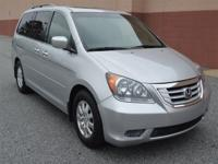 Options:  2010 Honda Odyssey Ex-L|Silver|Automatic Air