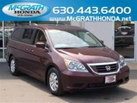 Don't leave this 2010 Honda Odyssey EX-L off your