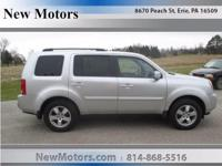 You're going to love the 2010 Honda Pilot! It