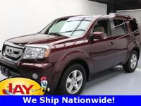 Options:  2010 Honda Pilot Ex-L|Red|3.5L V6 Sohc I-Vtec
