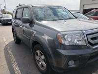 Gray 2010 Honda Pilot EX-L FWD 5-Speed Automatic 3.5L