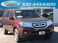 Mark and Lisa loved their 2010 Honda Pilot Touring so